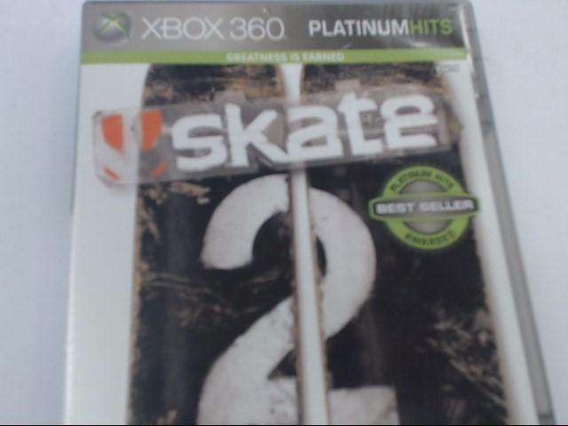 XBOX 360 SKATE 2