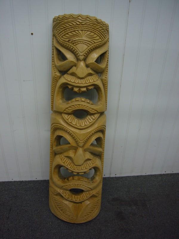Sculpture/Carving HAWAIIAN TOTEM