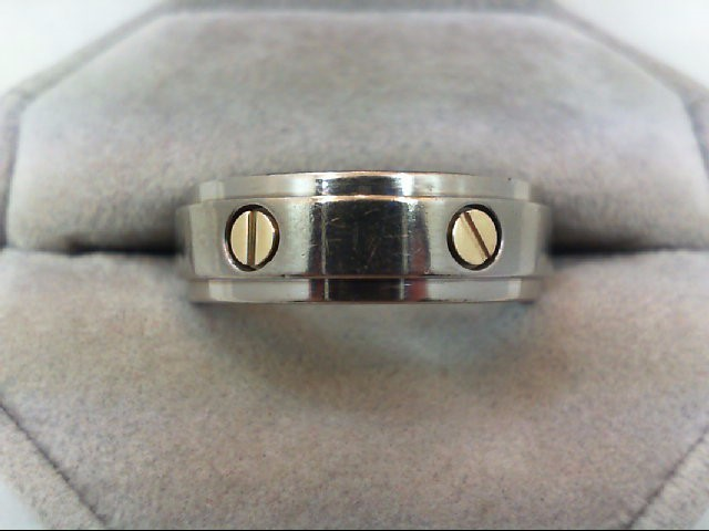 Gent's Ring Silver Titanium 4.8g