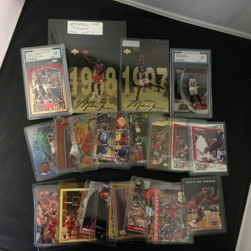 MICHAEL JORDAN CARD LOT