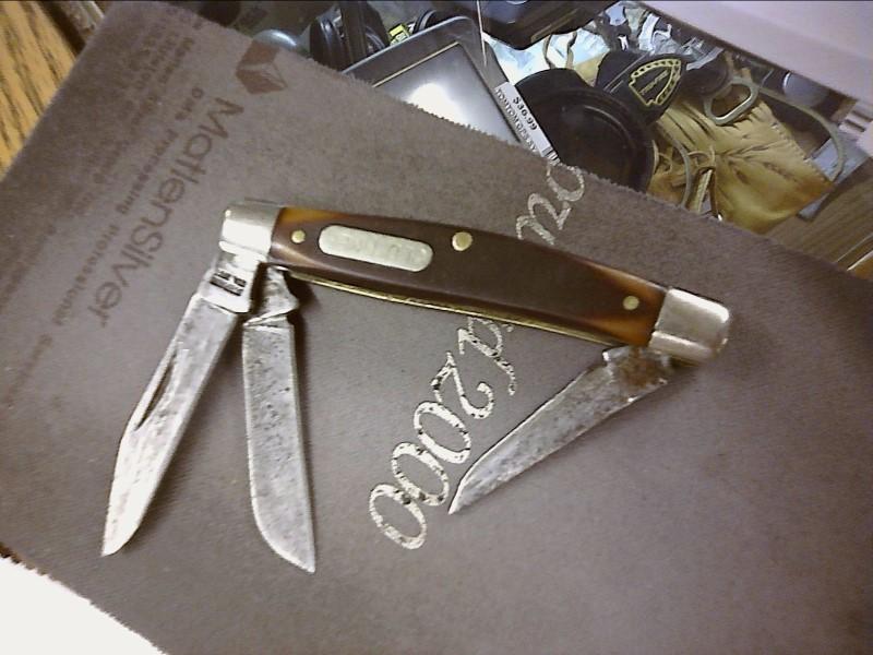 SCHRADE Pocket Knife 860T OLD TIMER 860T
