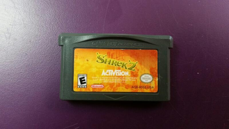 Shrek 2 (Nintendo Gameboy Advance, GBA) CART ONLY