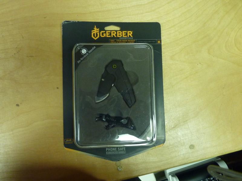 GERBER Pocket Knife POCKET KNIFE AND SHARD COMBO