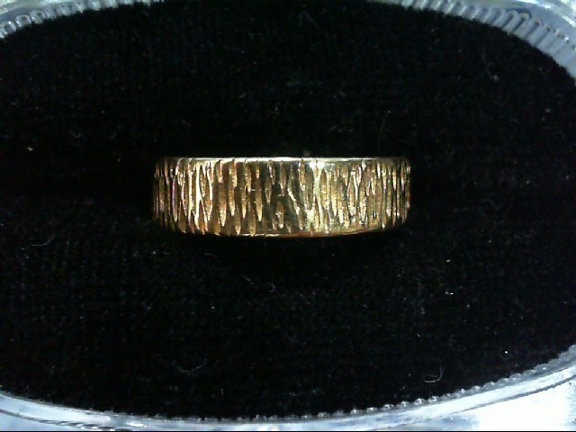 Lady's Gold Wedding Band 14K Yellow Gold 3.8g Size:6