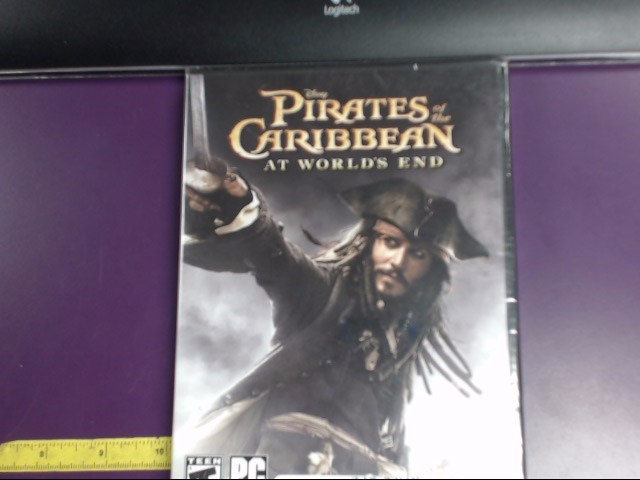 PC GAME PIRATES OF THE CARIBBEAN AT WORLDS END