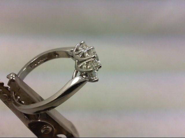 Lady's Platinum-Diamond Anniversary Ring 3 Diamonds .99 Carat T.W. 950 Platinum