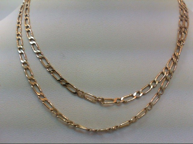 Gold Link Chain 10K Yellow Gold 6.1g