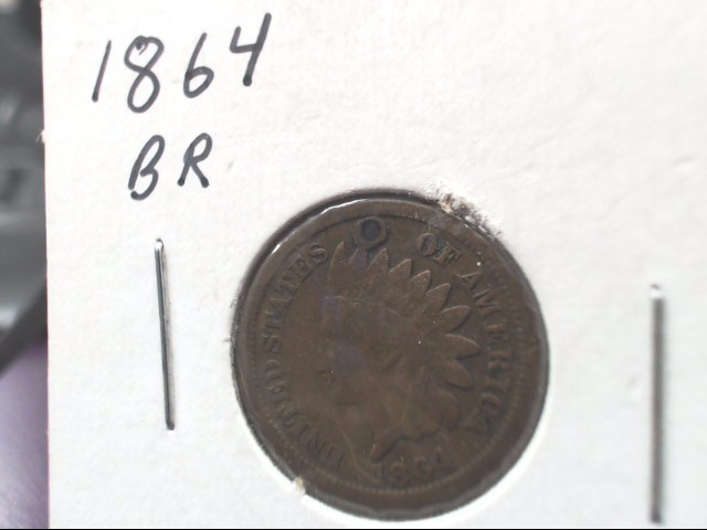 UNITED STATES 1864 INDIAN HEAD PENNY