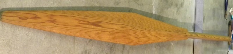 NORTHWEST NATIVE CARVED CEDAR PADDLE