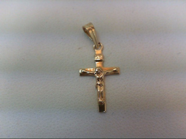 Gold Charm 14K Yellow Gold 0.4g