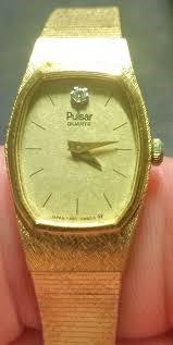 PULSAR WATCH Lady's Wristwatch Y590-0620T