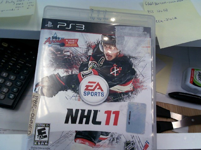 SONY Sony PlayStation 3 NHL 11