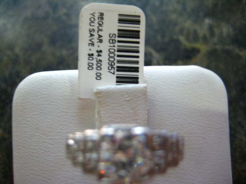 Lady's Platinum Ring 950 Platinum 3.6g