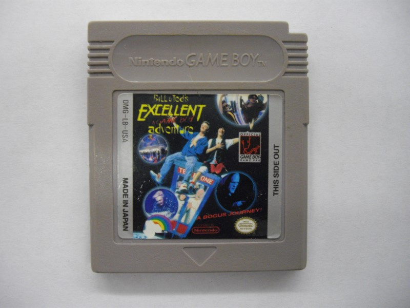NINTENDO BILL & TEDS EXCELLENT ADVENTURE (GAMEBOY) *CARTRIDGE ONLY*