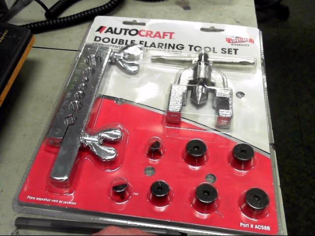 AUTOCRAFT Misc Automotive Tool DOUBLE FLARING TOOL SET