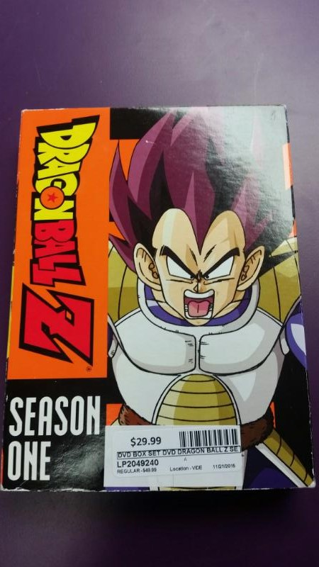Dragon Ball Z The Complete First Season 1 on DVD