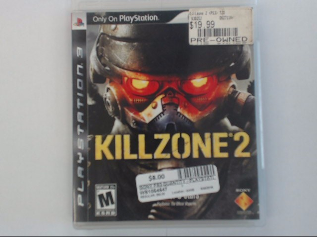 KILL ZONE 2 - PS3 GAME