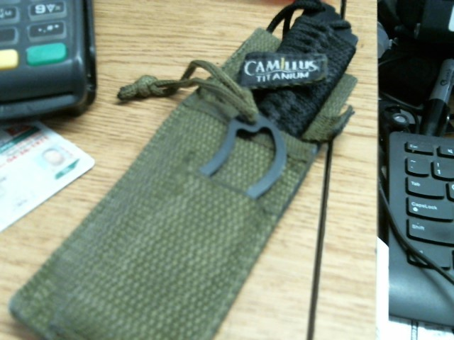 CAMILLUS CUTLERY Hunting Gear MILITARY KNIFE