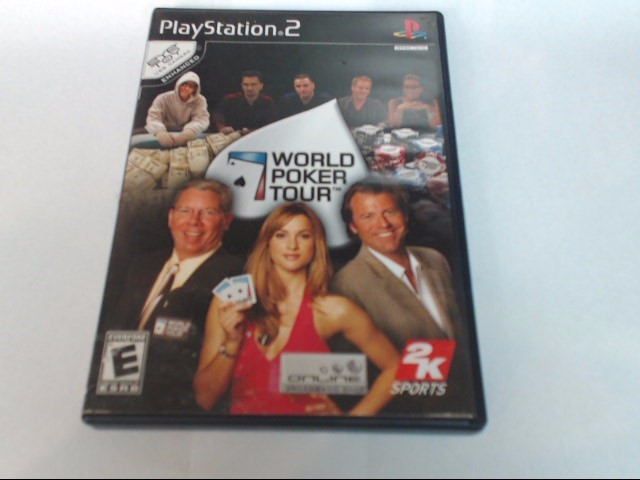 PLAYSTATION 2 GAME: WORLD POKER TOUR