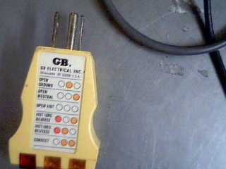 GB ELECTRICAL INC GROUND TESTER