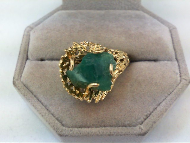 Lady's Gold Ring 18K Yellow Gold 8.1g