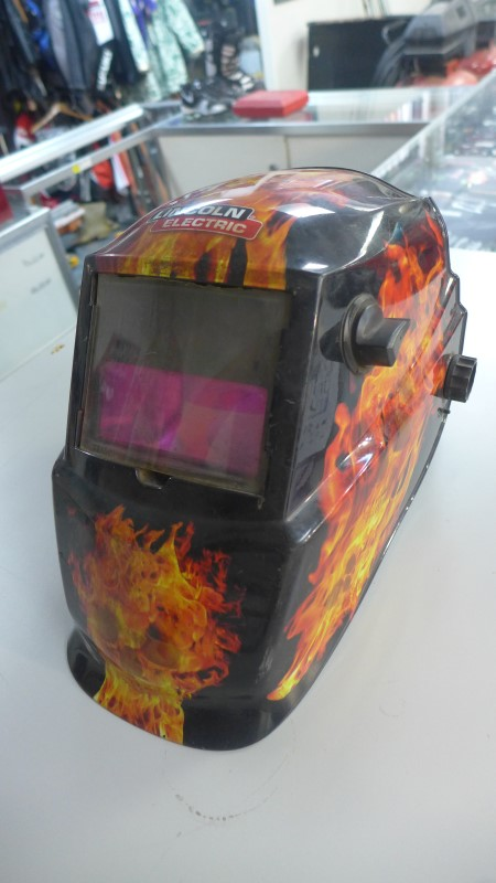 "LINCOLN ELECTRIC ""One of a kind"" WELDING HELMET"