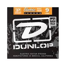 DUNLOP ELECTRIC GUITAR STRINGS DEN0942 NICKEL WOUND LIGHT GAUGE