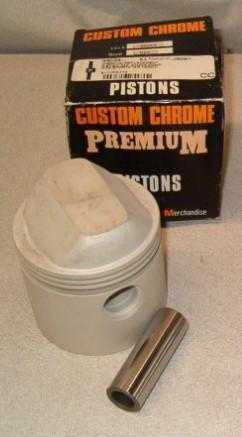 CUSTOM CHROME 56054, 010 XL PISTON W/WRISTPIN