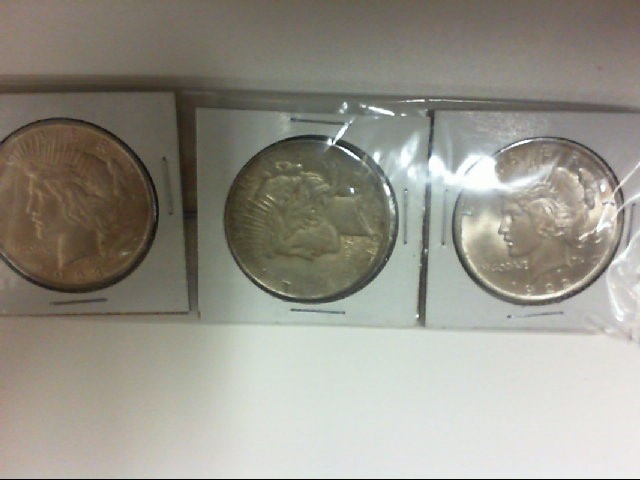 3 PEACE $ 1923 25 22