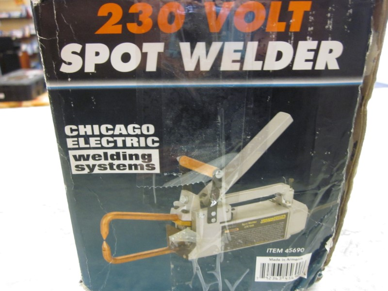 CHICAGO ELECTRIC SPOT WELDER