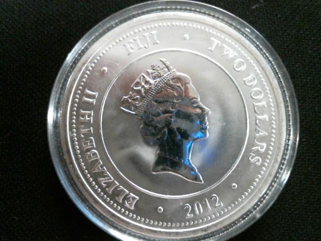 FIJI TAKU Silver Coin SILVER ROUND