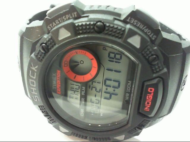TIMEX Gent's Wristwatch SHOCK INDIGLO