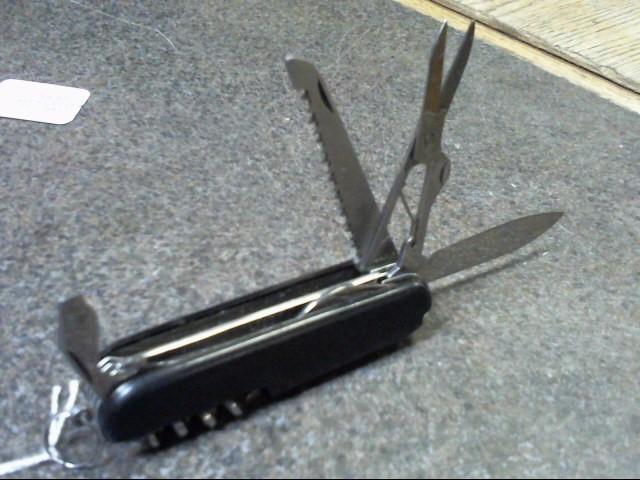Pocket Knife SWISS ARMY KNIFE black