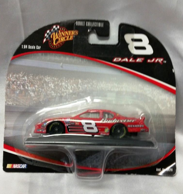 WINNERS CIRCLE 1:64 SCALE DALE JR #8 CAR RED