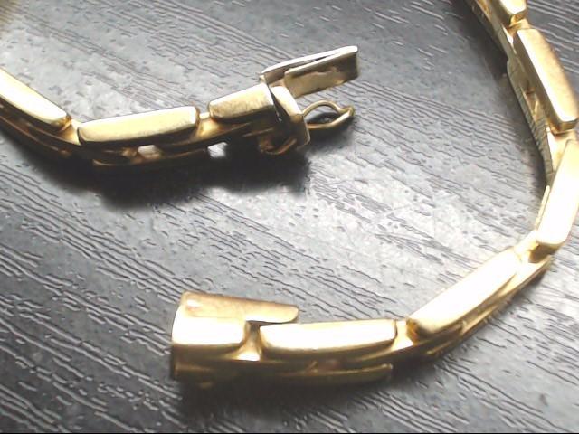 Gold Link Bracelet 14K Yellow Gold 14.5g