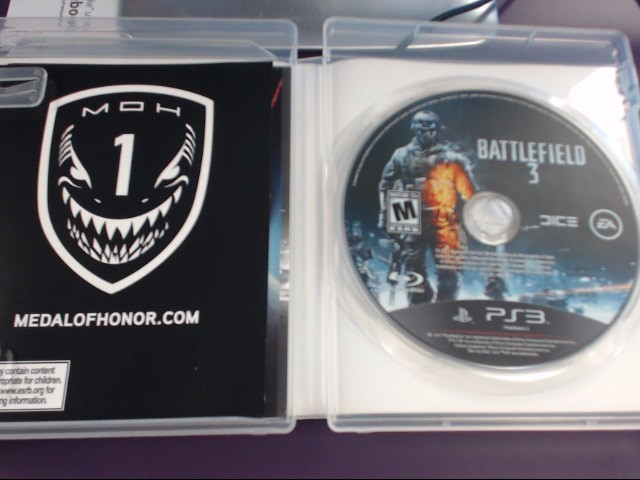 SONY Sony PlayStation 3 BATTLEFIELD 3