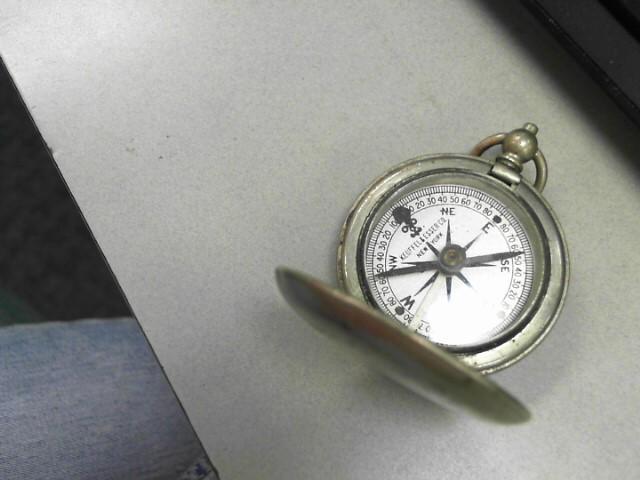 KEUFFEL & ESSER Military Memorabilia POCKET COMPASS