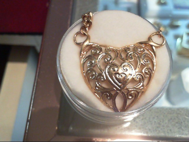"17"" Gold Fashion Chain 14K Yellow Gold 6.2g"
