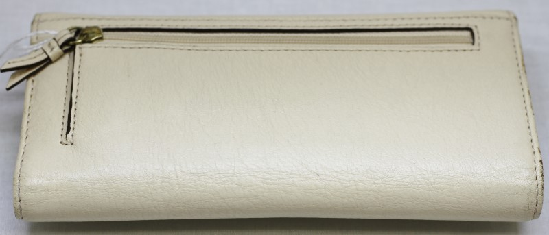 COACH ASHLEY TRIFOLD CHECKBOOK WALLET