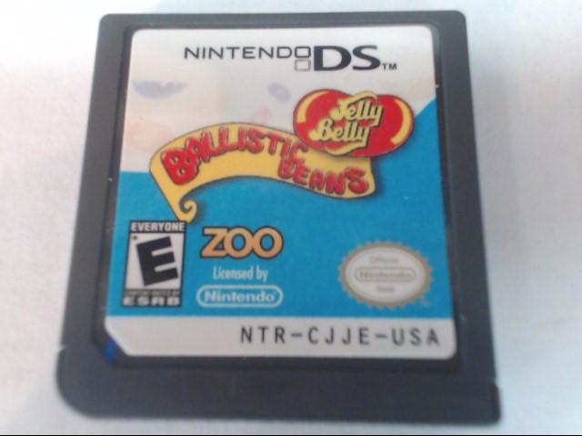 NINTENDO Nintendo DS Game JELLY BELLY: BALLISTIC BEAN - DS