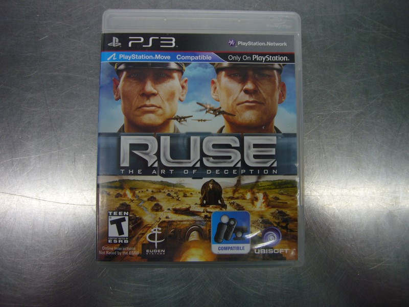 SONY PlayStation 3 Game RUSE THE ART OF DECEPTION