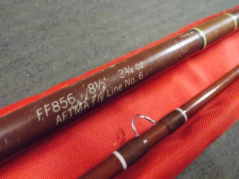 FENWICK FF856 8 1/2', 3 3/4OZ AFTMA FLY LINE NO. 6