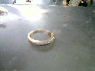 Lady's Gold-Diamond Anniversary Ring 10 Diamonds .40 Carat T.W. 14K Yellow Gold