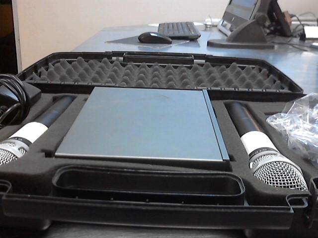 GTD AUDIO WIRELESS MICROPHONES,RECEIVER G-200