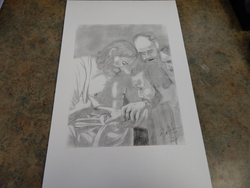RICO GERAD MEDINA Print RELIGIOUS ETCHINGS