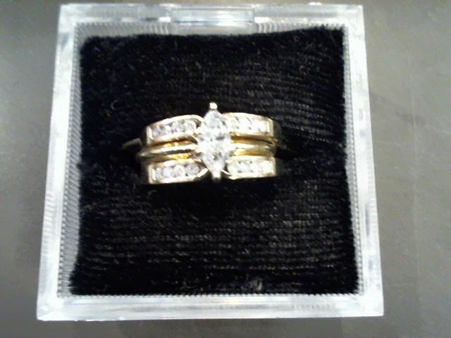 Lady's Diamond Wedding Band 17 Diamonds 1.23 Carat T.W. 14K Yellow Gold 6.5g