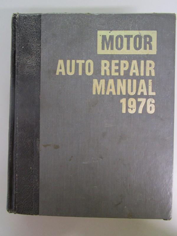 MOTOR'S AUTO REPAIR MANUAL 1976