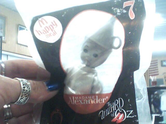 MADAME ALEXANDER Collectible Plate/Figurine TIN MAN