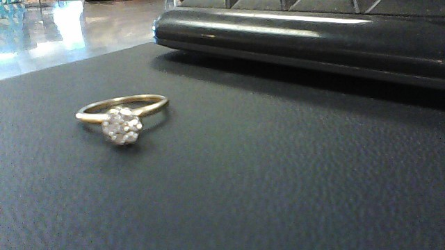 Lady's Diamond Engagement Ring 7 Diamonds .49 Carat T.W. 14K Yellow Gold 2.1g