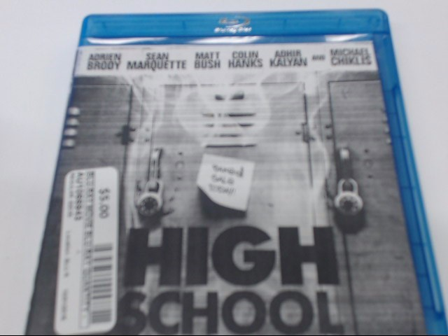 HIGH SCHOOL - BLU-RAY MOVIE